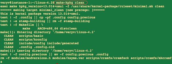 Fig.06: Run make-kpkg command