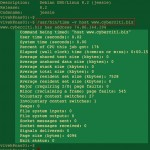 How to summarize detailed system resource usage for given command on a Linux or Unix