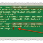 How to get Ethernet Link Speed in MAC OS X Through Command Prompt