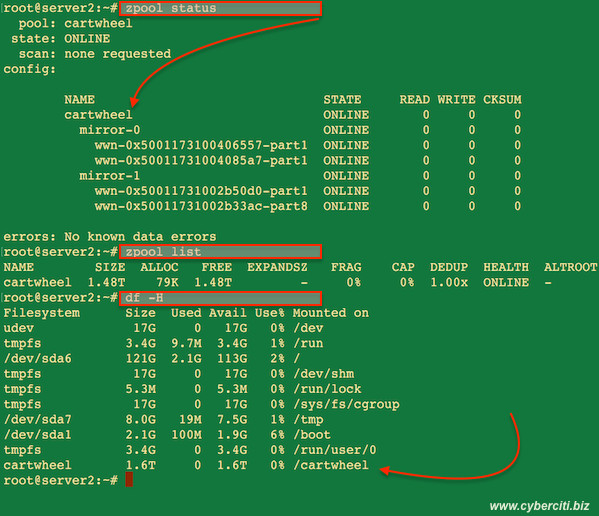 How to create raid 10 striped mirror vdev zpool on for Mirror 0 zfs