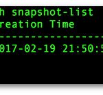 How to create snapshot in Linux KVM VM/Domain