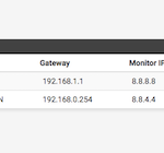 How to forcefully mark down pfSense Gateway as down