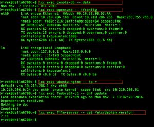 Unix commands date