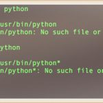 "Linux / Unix: ""-bash: python: command not found"" error and solution"
