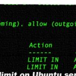 How to limit SSH (TCP port 22) connections with ufw on Ubuntu Linux
