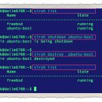 How to forcefully shutdown a guest VM using virsh command on Linux KVM