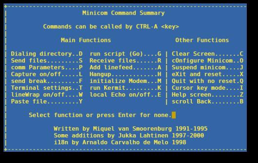 Minicom Linux - фото 9
