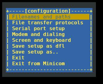 Minicom Linux - фото 3