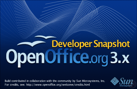 OpenOffice.org 3.0's new features