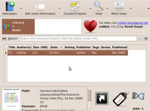 Fig.07: Calibre is used for: ebook converter / reader