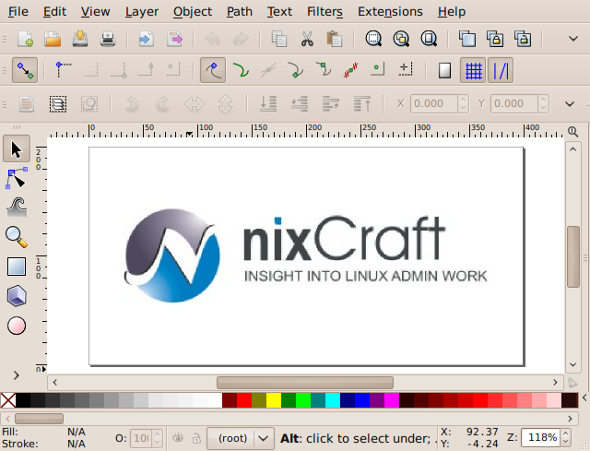 10 greatest open source software of 2009 nixcraft for Open source adobe illustrator