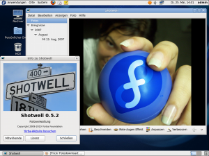 Fedora 13 Desktop (image credit - the fedora project)