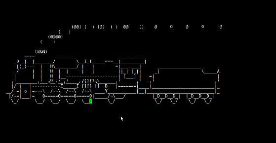 "Fig.01: Run steam locomotive across the screen if you type ""sl"" instead of ""ls"""