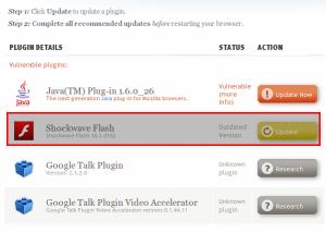 Firefox Update Flash Plugin