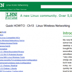 Linux Home Networking