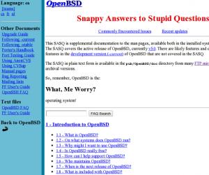 OpenBSD Documenation