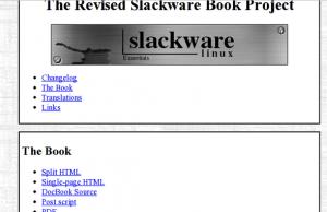 Slackware Linux Book and Documentation