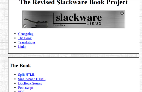 Slackware Linux Book and Documentation
