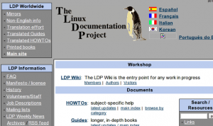 Linux Learning Site and Documentation